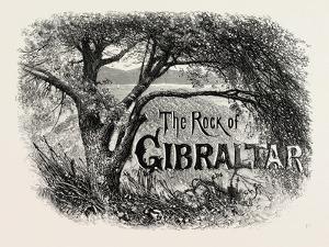 Sketch in the Alameda, Gibraltar