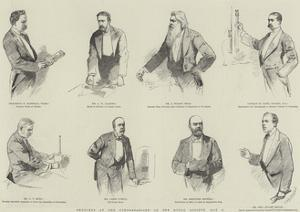 Sketches at the Conversazione of the Royal Society, 8 May