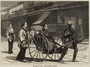 Sketches in Japan, Temple-Street, Nagasaki