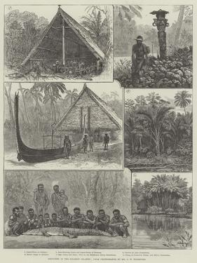 Sketches in the Solomon Islands