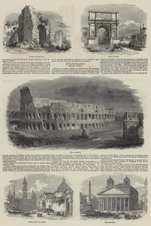 Sketches of Rome
