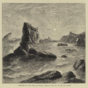 Sketches on the Coast of Brazil, View of the Bay of Rio De Janeiro