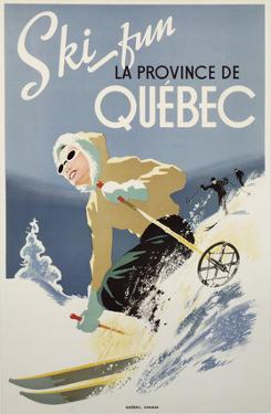Ski Fun la Province de Quebec, 1948