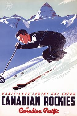 Ski in Canadian Rockies