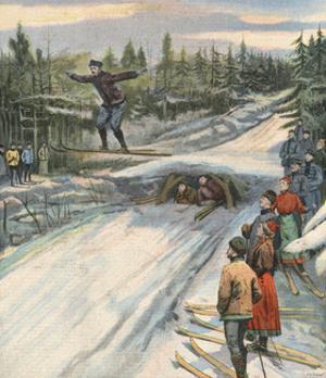 Ski Jumping, Norway 1907