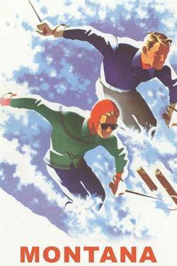 Ski Montana Poster