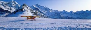 Ski Plane Mannlichen Switzerland