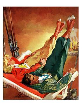 """Apres Ski,"" February 22, 1941 by Ski Weld"