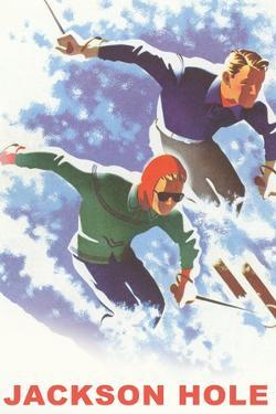 Skiers, Jackson Hole