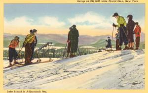 Skiers, Lake Placid, New York