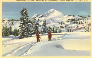 Skiing at Brighton, Utah