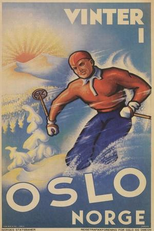 Skiing in Oslo, Norway