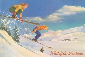 Skiing, Whitefish