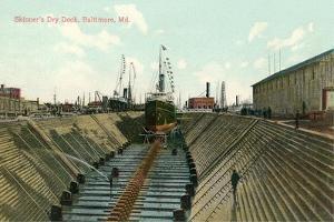 Skinner's Dry Dock, Baltmore