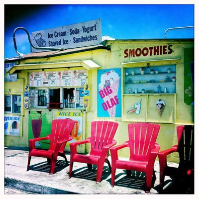 An Ice Cream Stand by Skip Brown