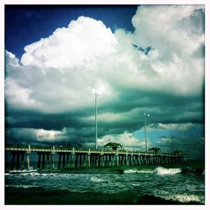 Jennettes Pier in Nags Head, North Carolina by Skip Brown