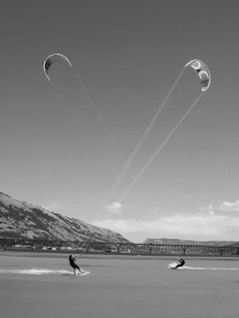 Kiteboarding Symmetry by Skip Brown