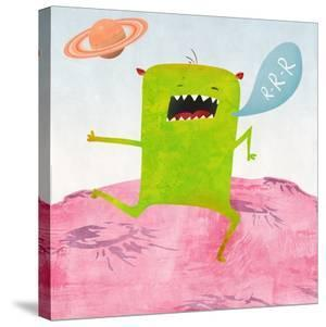Alien Friend Number 1 by Skip Teller