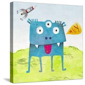 Alien Friend Number 3 by Skip Teller