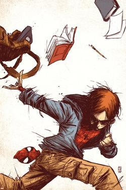 Marvel Adventures Spider-Man No.53 Cover: Peter Parker by Skottie Young
