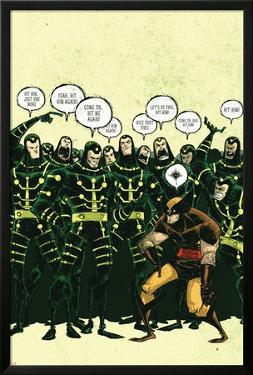 Wolverine First Class No.18 Cover: Wolverine and Madrox by Skottie Young
