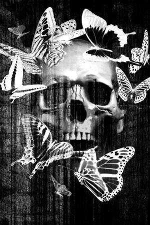 Skull Butterfly Crown