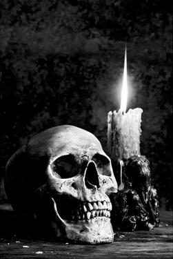 Skull Candle Black & White