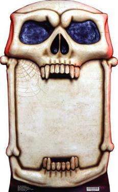 Skull Signboard