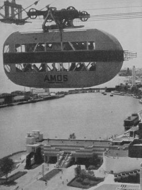 Sky Ride Rocket Car at the Century of Progress, Chicago, 1934