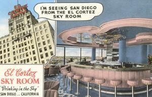 Sky Room, El Cortez Hotel, San Diego, California