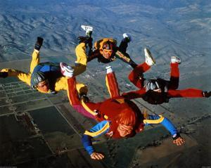 Skydiving, Free Fall Formation