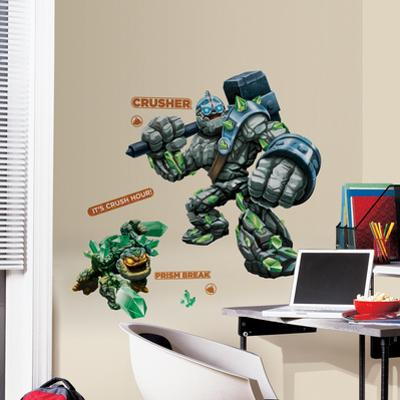 Skylanders Giants Crusher & Prism Break Peel and Stick Giant Wall Decals