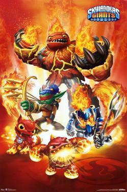 Skylanders Giants - Fire