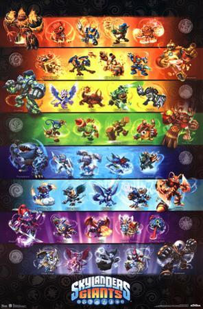 Skylanders Giants - Group