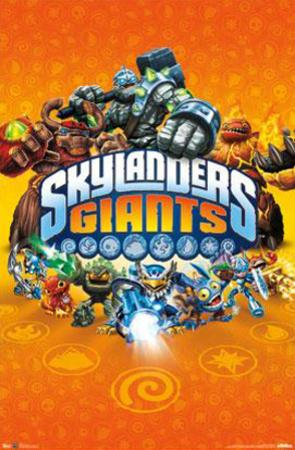 Skylanders Giants - Key Art