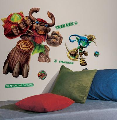 Skylanders Giants Tree Rex & Stealth Elf Peel and Stick Giant Wall Decals