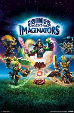 Skylanders: Imaginators- Traptanium Crystal Key Art