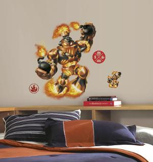 Skylanders SWAP Force - Blast Zone Peel and Stick Giant Wall Decal