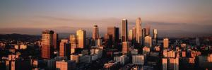 Skyline at Dusk, Los Angeles, California, USA