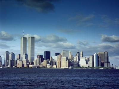 Skyline of Lower Manhattan before the 9/11 Terrorist Attacks