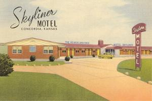 Skyliner Motel, Concordia, Kansas