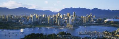 Skyscrapers at the Waterfront, Vancouver, British Columbia, Canada