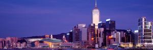 Skyscrapers in Hong Kong, China