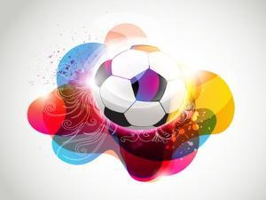 Abstract Colorful Football Banner by Slamer