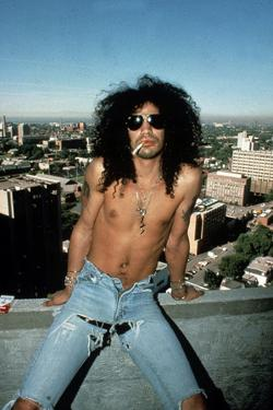Slash, Guitarist Member of Group Guns N'Roses in 1992