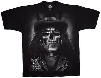 Slash- Rocker Skull