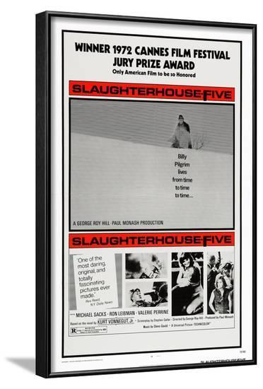 Slaughterhouse Five--Framed Art Print