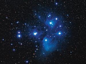 Pleiades Star Cluster by Slawik Birkle