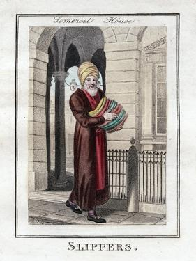Slippers, Somerset House, London, 1805