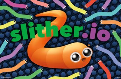 SLITHER.IO poster